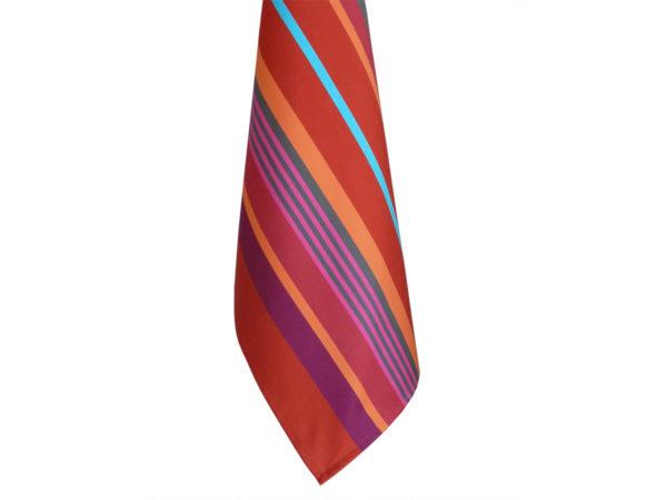 Torchon en coton rouge MIREPOIX