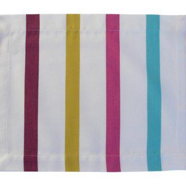 Set de table en tissu blanc TUTTI FRUTTI