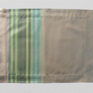 Set de table en tissu vert jade AUTHENTIQUE