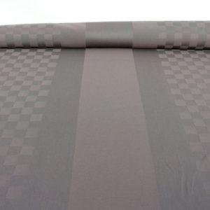 Tissu au mètre en coton gris ROQUEFIXADE