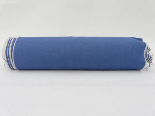 Tissus pour transat au mètre bleu UNI