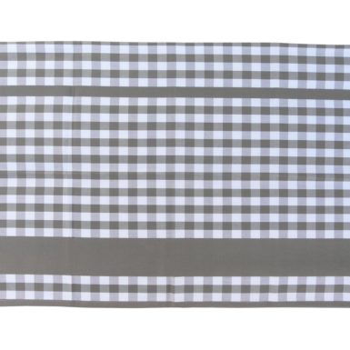 Torchon de cuisine coton gris GUINGUETTE