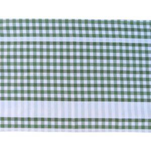 Torchon de cuisine coton vert GUINGUETTE