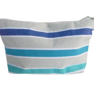 Chic trousse de toilette bleu TISSAGES CATHARES