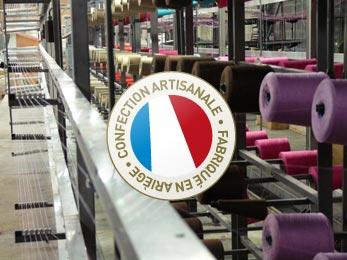 Linge haut de gamme fabriqué en Ariège