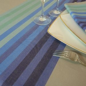 Nappe de table bleu AUTHENTIQUE