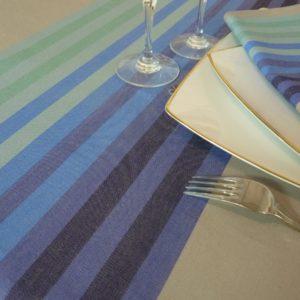 Nappe de table bleu AUTHENTIQUE