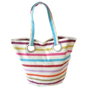 Sac shopping original blanc Tutti Frutti