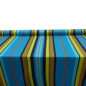 Tissu au mètre bleu MIREPOIX