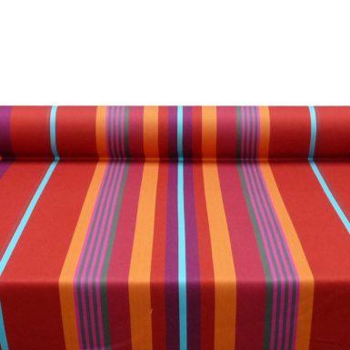 Tissu au mètre en rouge MIREPOIX