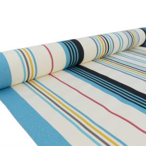 Tissu au mètre en bleu CAMON