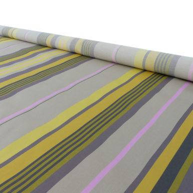 Tissu au mètre en jaune MIREPOIX
