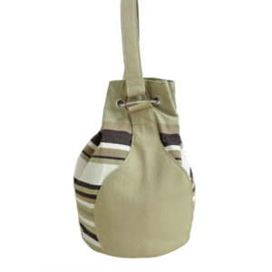 Sac bourse beige naturel TISSAGES CATHARES