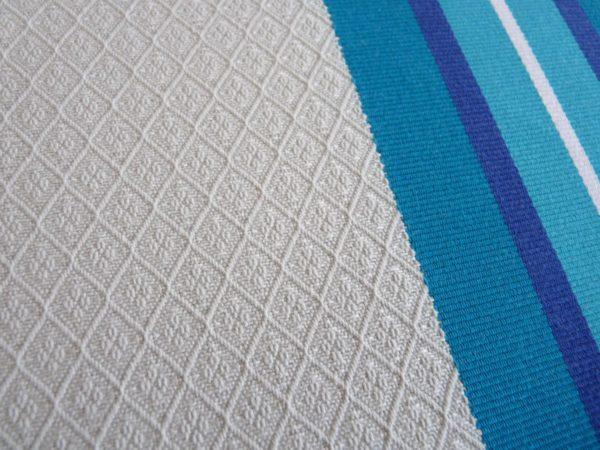 Nappe en coton bleu océan PUIVERT