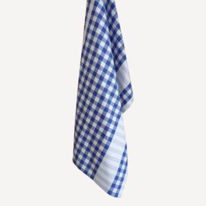Torchon de cuisine coton bleu GUINGUETTE