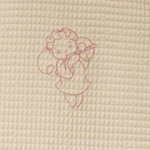 Gigoteuse sans manches en nid d'abeille Ange