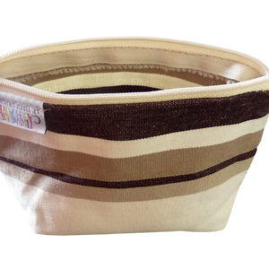 Porte-monnaie beige naturel TISSAGES CATHARES