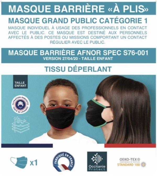 masque-enfant-a-plis-occitanie-protect