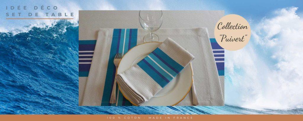 Set de table en tissu